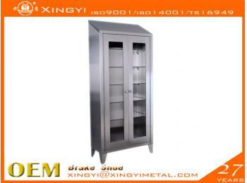 不锈钢可视储物柜
