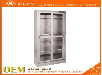 不锈钢可视储物柜type2
